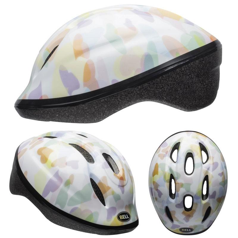 【当店ならエントリーでポイント+9倍★21日10時から】BELL ZOOM2 ズーム2 ホワイトハーツ ヘルメット/ ベル 自転車 子供用ヘルメット