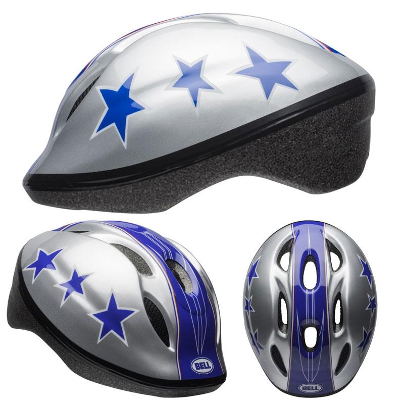 BELL ZOOM2 ズーム2 シルバーxブルースタント ヘルメット/ ベル 自転車 子供用ヘルメット[PT_UP]