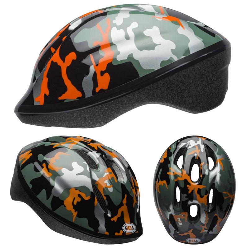 BELL ZOOM2 ズーム2 オレンジカモ ヘルメット/ ベル 自転車 子供用ヘルメット