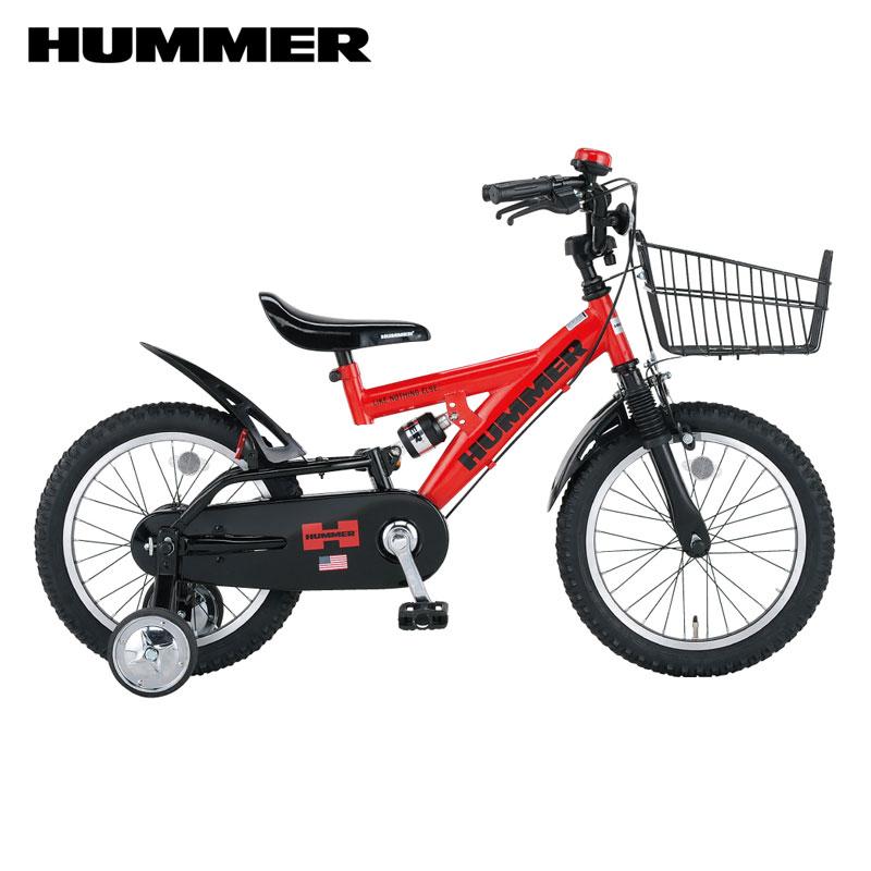 【地域限定送料無料】 HUMMER KIDS ハマーキッズ 16インチ 幼児車/ ハマー 自転車 HM-KID16R-DW2 【小サイズ】【発送目安:ご注文確定から4週間程度】【配送時間指定不可】