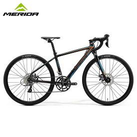 MERIDA MISSION J.ROAD METALLIC BLACK / メリダ ジュニアロードバイク 子供用自転車 2020年モデル 【大サイズ】