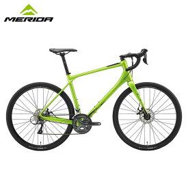 【地域限定送料無料(東京・神奈川・千葉・埼玉)】MERIDA SILEX 100 GLOSSY GREEN / メリダ ロードバイク 2020年モデル 【大サイズ】
