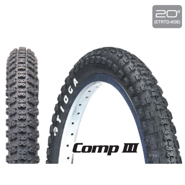 TIG コンプ 3 / TIOGA タイオガ 自転車パーツ 20インチ 2.125 406 BMXレーシング タイヤ