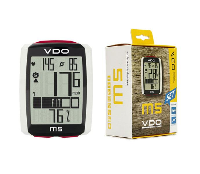 VDO ワイヤレスサイクルコンピューター M5 WL / バーディーオー サイクルコンピューター 自転車パーツ 【送料無料】【PT_UP】
