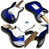 Beginner set electric guitar Legend by AriaPro LST-Z legend by ARIA Pro strut type