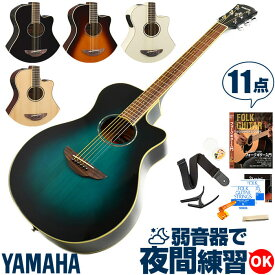 アコースティックギター 初心者セット ヤマハ エレアコ YAMAHA APX600 ギター 初心者 11点 アコギ 入門 セット
