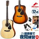 アコースティックギター 初心者セット モーリス アコギ Morris M-280 12点 入門 セット