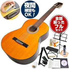 クラシックギター 初心者セット アンジェリカ by アリア AKN-15 (ギター 初心者 入門 セット 14点)