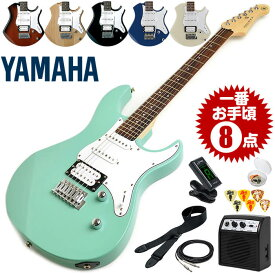 エレキギター 初心者セット ヤマハ PACIFICA112V 8点 (YAMAHA エレキ ギター 初心者 入門 セット)