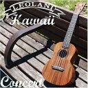 ウクレレ コア材 LEOLANI Hawaii LK-1C KOA Concert レオラニ ハワイ コンサートサイズ