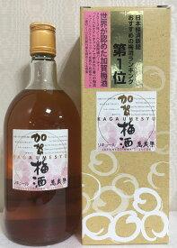 萬歳楽 【加賀梅酒】 720ml 石川県(小堀酒造)