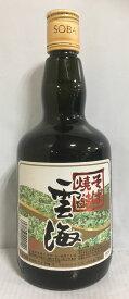 本格そば焼酎 【雲海】 25度 720ml 宮崎県(雲海酒造株式会社 綾蔵)