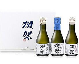 山口県 旭酒造獺祭 純米大吟醸 180ml 3本セットオリジナル化粧箱入 瓶詰2019年6月以降