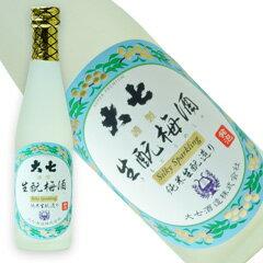 大七 生もと梅酒シルキースパークリング300ml(クール便)[福島県]