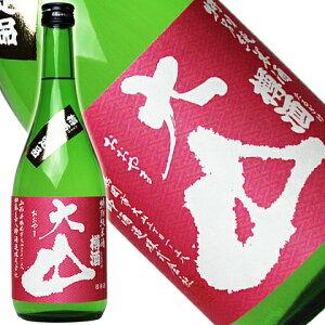 大山 特別純米酒 樽酒 春ラベル720ml[山形県]