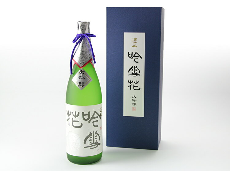 【海外向け限定】大吟醸 道三 吟雪花1.8L〈蔵元直送〉【日本国内には発送できません】