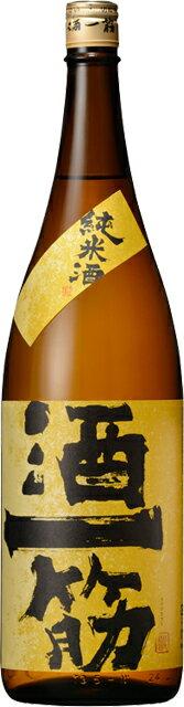 【呑み頃期限間近】【訳あり】純米 酒一筋 1.8L【岡山県】