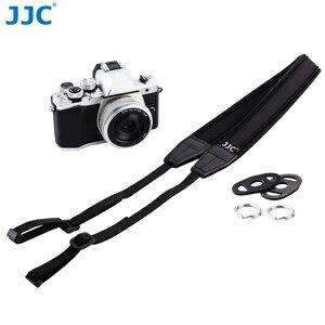 JJC カメラ ネック ストラップ カメラ ストラップ 一眼レフ ミラーレスカメラ ストラップ 富士フイルム Fujifilm X100V X-T4 X-T3 X-T30 X-Pro3 X-Pro2 ソニー Sony A6600 A6500 A6400 A6300 A6100 キャノン Canon G7X III