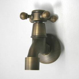 蛇口 アンティーク調 スタンダード銅製蛇口 / 立水栓 水栓柱 立水栓セット 蛇口 ガーデン