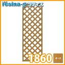 <レシナg> ウッドプララティス 1800×600mm オーク ガーデン DIY フェンス 部材 人工木 木樹脂 樹脂木 フェンス材