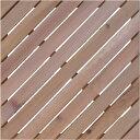 レッドシダー ウッドタイル 450斜 / ウッドタイル 材料 人工木ウッドデッキ 樹脂ウッドデッキ 樹脂デッキ ウッドパネ…