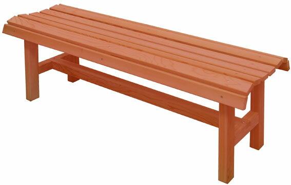着色杉材デザインベンチ (aks-34703)ベンチ ガーデンベンチ デザインベンチ ファニチャー エクステリア【送料無料】
