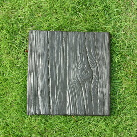 ウッドスクエア敷石(FRP素材) 敷石 枕木 擬石 FRP エクステリア ガーデニング aks-57054