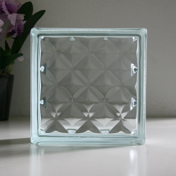 ガラスブロック クリアジュエル / ガラスブロック ガラス ブロック 外壁 エクステリア ブックエンド