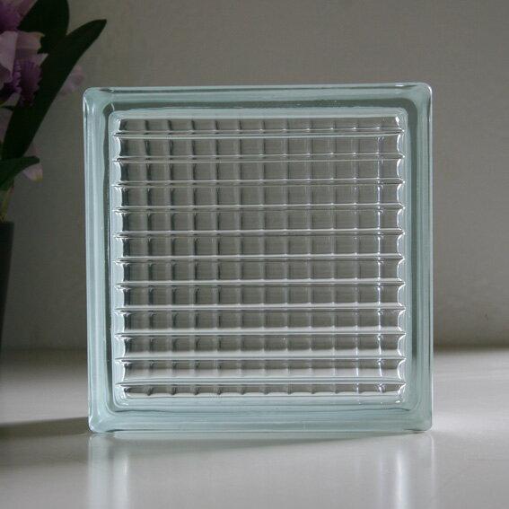 ガラスブロック クリアパラレル / ガラスブロック ガラス ブロック 外壁 エクステリア ブックエンド