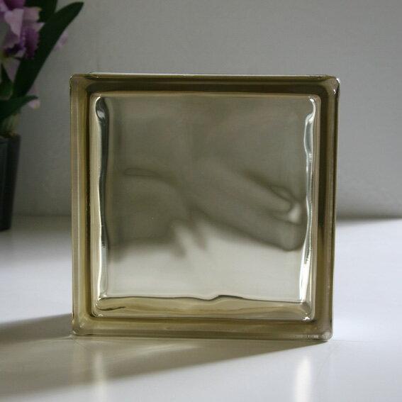 ガラスブロック ブラウンクラウディ / ガラスブロック ガラス ブロック 外壁 エクステリア ブックエンド
