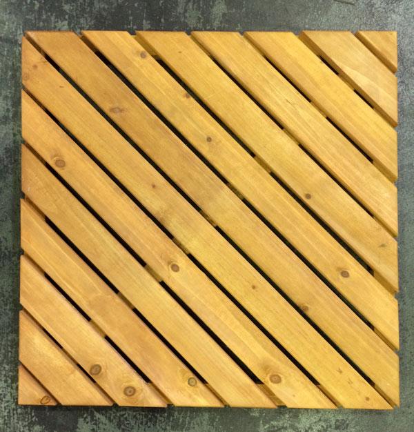 【訳あり商品】 ウッドタイル 600斜 / ウッドタイル 材料 人工木ウッドデッキ 樹脂ウッドデッキ 樹脂デッキ ウッドパネル【在庫処分】
