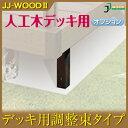 【代引き不可】調整束L2848 JJ-WOOD II / ウッドデッキ デッキ バルコニー ガーデニング エクステリア 人工木