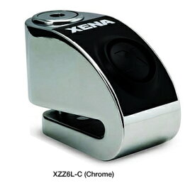 在庫処分 並行輸入 XENA XZZ6L-C (CHROME) アラーム ディスクロック ゼナ