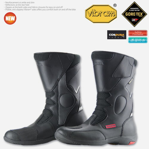 コミネ BK-069 GORE-TEX ライディングブーツ-オルティガーラ KOMINE BK-069 GORE-TEX Riding Boots-ORTIGARA 05-069
