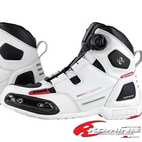コミネ BK-076 ウォータープルーフプロテクトBoaライディングシューズスポート KOMINE 05-076 WP Protect Boa Riding Shoes SPORT
