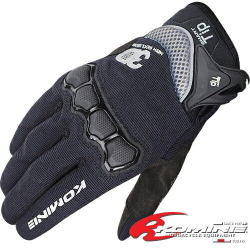 コミネ GK-162 3D プロテクトメッシュグローブプラス KOMINE 06-162 3D Protect M-Gloves Plus スマホ対応グローブ