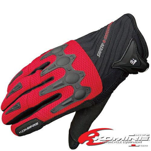 コミネ GK-157 フレックス ライディング メッシュグローブ-アジャンタ KOMINE 06-157 Flex Riding M-Gloves-AJANTA