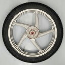 スーパーカブ110用 <リア>ホイールタイヤセット ホンダ純正ホイール+シンコー製タイヤ HONDA SHINKO リアホイール
