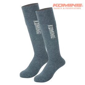 コミネ AK-359 ウインターヒートソックスロング KOMINE 09-359 秋冬 暖かい 靴下 バイクウェア