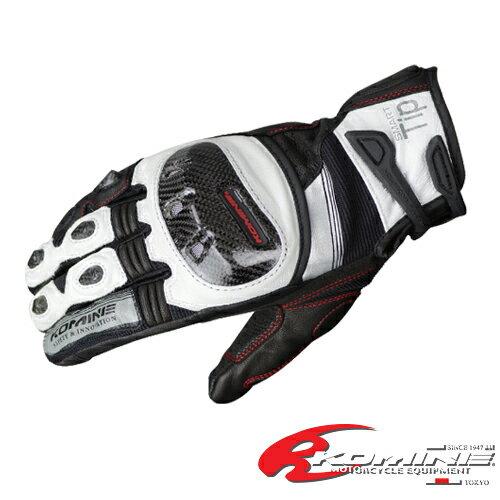 コミネ GK-193 CE プロテクトレザーメッシュグローブ-グレン 2017春夏モデル KOMINE 06-193 バイク/グローブ/レザー/メッシュ/スポーティー/CE適合/メンズ/レディース