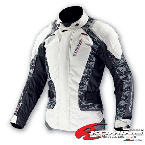 コミネ JK-587 通常サイズ S〜4XL プロテクトウィンタージャケット-タガ KOMINE 07-587 バイクジャケット