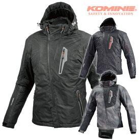 コミネ JK-589 プロテクトウインターパーカ 秋冬バイクジャケットCE規格パッド付 KOMINE 07-589 2018年モデル メンズ レディース