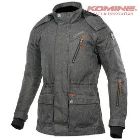 コミネ JK-601 プロテクトアーバンウィンターコート KOMINE 07-601 バイク 秋冬 防寒 CE規格パッド付 おしゃれ 2020年モデル