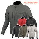 コミネ JK-603 プロテクトウィンタージャケット KOMINE 07-603 バイク 秋冬 防寒 CE規格パッド付 2021年新色追加