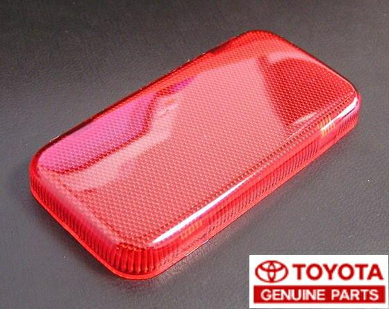 【20系イプサム】純正ドアカーテシランプ用赤色レンズドア4枚分セット
