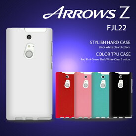 ARROWS Z FJL22 カバー カラージェリー シリコンケース ソフトケース