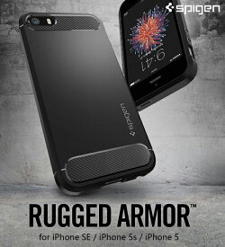 iPhone SE ケース iphone5s ケース 耐衝撃 SGP Spigen Rugged Armor ブランド アイフォンケース アイフォン5s ケース iphone5 ケース スマホケース 米軍MIL規格取得 落下 スマホ カバー スマホカバー simフリー スマートフォン 携帯ケース シュピゲン ラギッド・アーマー