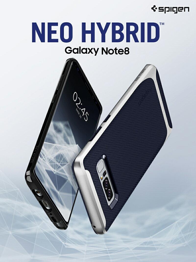 Galaxy Note9 ケース 耐衝撃 Galaxy Note8 ケース SPIGEN Galaxy S8 ケース Galaxy S8+ スマホケース スマホカバー S8 Plus サムスン ギャラクシー ノート8 カバー ギャラクシー ノート8 s8plus おしゃれな バンパー メタル ネオハイブリッド ギャラクシー s8 プラス カバー