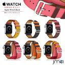apple watch バンド Series 4 44mm 40mm 対応 二重巻き シングル 本革 レザー 42mm 38mm Series 1 2 3 4 対応 アップルウォッチ ベルト シリーズ