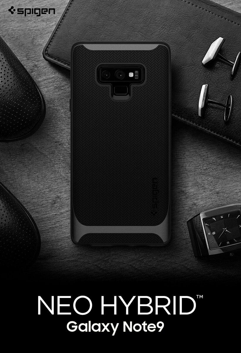 Galaxy Note9 ケース シュピゲン 衝撃吸収 Spigen Neo Hybrid 米軍MIL規格取得 二重構造 ギャラクシー ノート9 カバー 耐衝撃 samsung note 9 ケース SC-01L SCV40 tpu スマホカバー スマートフォン カバー スマホケース ブランド スマホ カバー